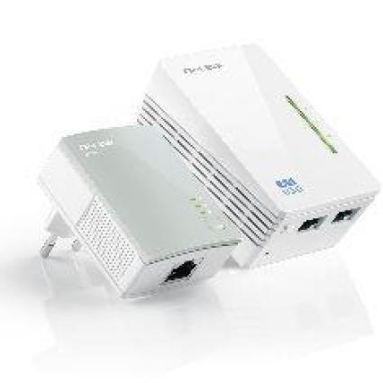 ADAPTADOR RED TP-LINK KIT 2X PLC 300MBPS WIFI