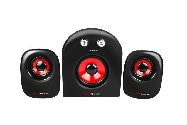 ALTAVOCES MARS GAMING SPEAKERS 2.1 MS2 20W