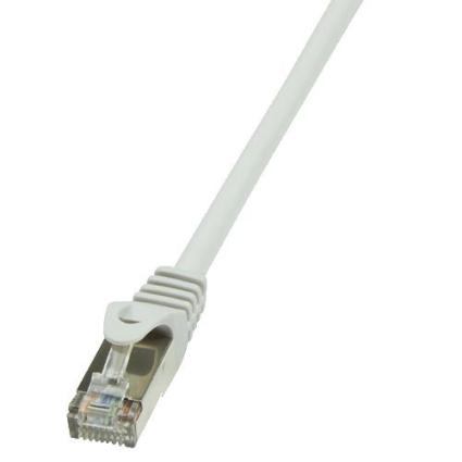 CABLE RED F/UTP CAT5E RJ45 LOGILINK 0.5M