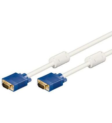 CABLE VGA M-M 10M DB15 MONITOR BEIGE