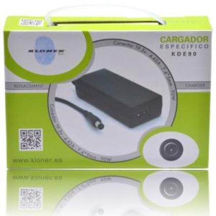 CARGADOR UNIVERSAL PORT/TFT DELL 90W KL-TECH