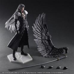 FIGURA PLAY ARTS FINAL FANTASY SEPHIROTH 28 CM