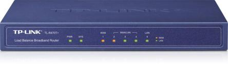 TP-LINK TL-R470T+ Ethernet Azul router