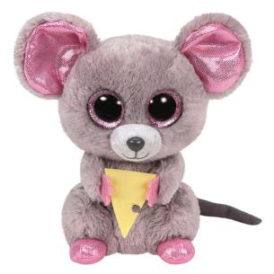 Peluche TY Beanie Boos Squeaker Mouse 15cm